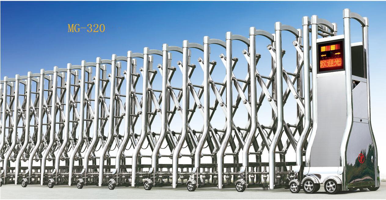 不锈钢电动伸缩门速度慢的原因介绍?
